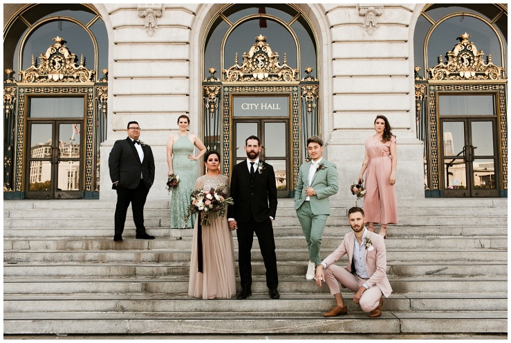 © Elizabeth Zuluaga // 2018 Urban Edge Wedding Inspiration - Seattle Wedding Photographer