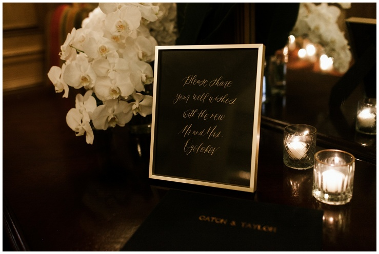 © Elizabeth Zuluaga // 2018 Romantic Candle Lit Wedding Inspiration - Seattle Wedding Photographer