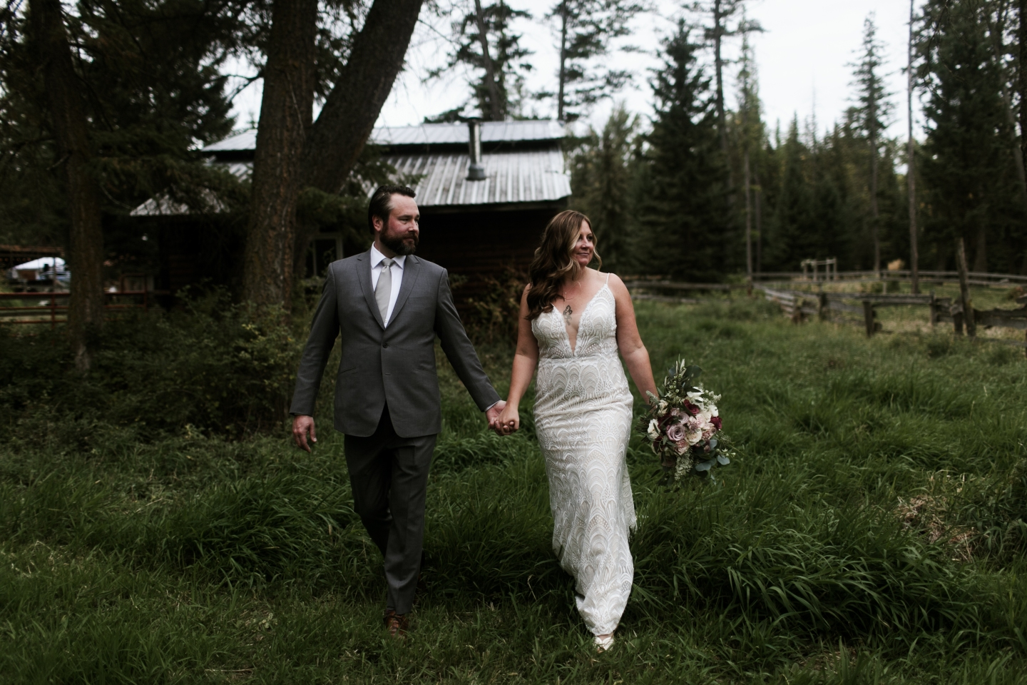 Rustic Farm Wedding in Montana