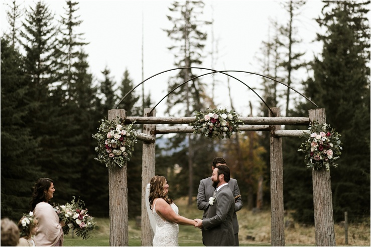 © Elizabeth Zuluaga // 2018 Rustic Farm Wedding in Montana - Montana Wedding Photographer